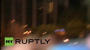 Greece: Molotov cocktails fly, clashes erupt in Athens