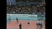 Bulgaria 3 - 2 Russia - Volleyball