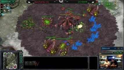 Финал на Starcraft 2 турнир: Gaminggear Sc2 Challenge 1 - Afk Tv Еп. 22 част 5.2