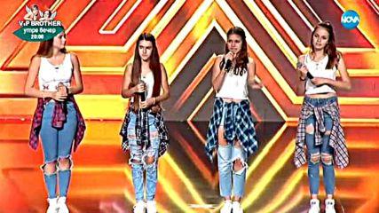 4 Magic - Момичетата с ангелски гласове - X Factor кастинг (10.09.2017)