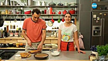 Гофрети от киноа с тиквички и сирене - Бон Апети (27.05.2016)