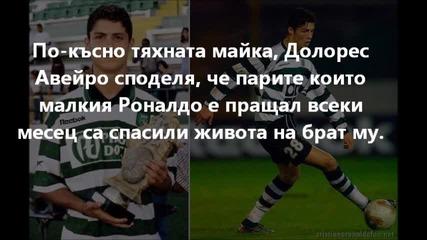 Интересни факти от живота на Роналдо, които вероятно не знаете - първа част! Cr7 fans from Bulgaria