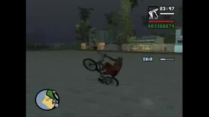 Gta San Andreas - Bike Drifting
