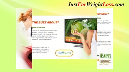 Thin Secret Pure Garcinia Cambogia - Best Supplement To Lose Weight And Burn Fat