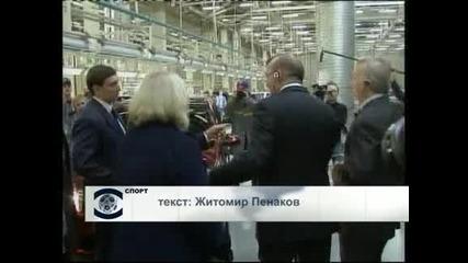 Витали Петров остава с Рено за още 2 сезона