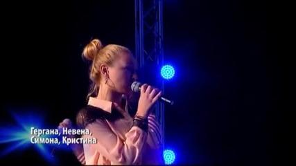 Групите на Сабатин, Гери - Никол и Гергана - X Factor (02.10.2014)