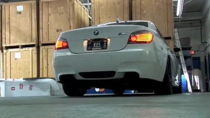 Bmw M5 Custom Exhaust Sound