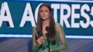 Nina Dobrev wins People's Choice Award 2012