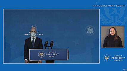 USA: Biden picks Antony Blinken to become his secretary of state