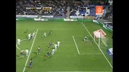 Рекреативо - Барселона 0:2 Лео Меси гол