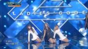 295.1014-6 Ladies Code - The Rain, Music Bank E857 (141016)
