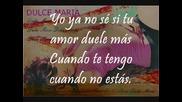 {bg subs} Dulce Maria- Dicen
