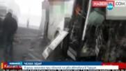 ЧЕЛЕН УДАР: 8 души загинаха при сблъсък на два автобуса