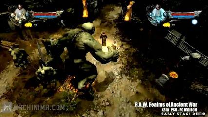 R. A. W. - Realms of Anicent War E3 2011 Trailer [hd]