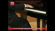 /12.06.2014/ Акад. Проф. Атанас Куртев изнесе клавирен рецитал