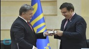 Controversial Ex-Georgia Leader Gets Ukraine Job