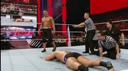 John Cena displays reckless abandon to get his rematch with Rusev_ Raw, March 9, 2015