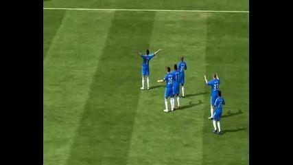 Fifa11 - Компилация преки свободни удари !!!