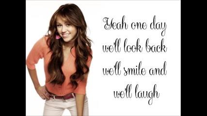 Miley Cyrus - I'll alway remember you (lyrics)