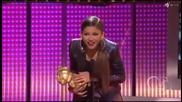 Zendaya wins Artist with the best style at Rdmas 2014