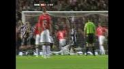 Манчестър Юнайтед - Нюкасъл 1 - 0 (роналдо)