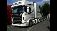 Jena parkirva Scania R620!