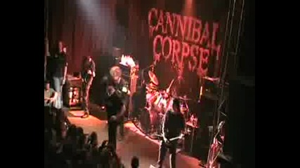 Cannibal Corpse - Vomit The Soul Live