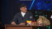 Комиците и приятели - Полицая и Дядо Коледа (31.12.2016) Смях!!!