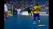 Futsal - Brasil 12 - 0 Rom Falc faz um Golaco Gran Prix 2009