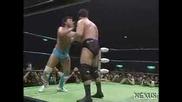 NOAH Kenta Kobashi & KENTA vs Kensuke Sasaki & Katsuhiko Nakajima