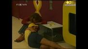 Big Brother 4-ЯКА ИНТРИГА-Жоро, Емилия И Таня В Любовен Триъгълник!14.10.2008