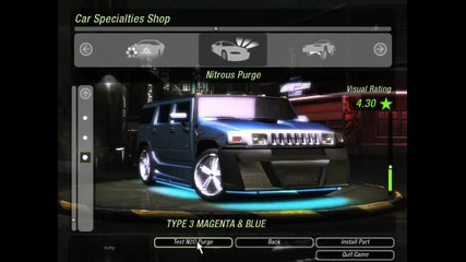 Need For Speed Underground 2 Hummer H2 Tuning