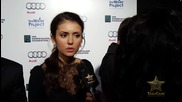 Nina Dobrev (the Vampire Diaries) Starcam Interview
