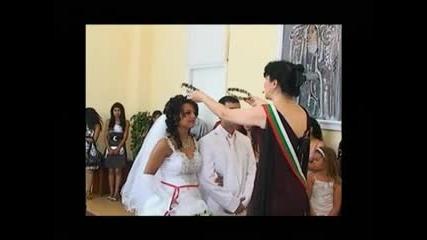 най красивите младоженци