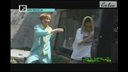 110622 match up ep1 - Block B U-kwon and Jaehyo Dance for funny to work hard