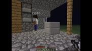 Minecraft Superflat Survival Част 3: Началото на форт Дрисня