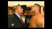 Randy Orton Talks Backstage With HHH