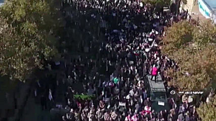 Iran: Pro-government demonstrators take to the streets across the country
