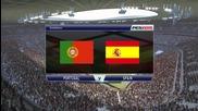 Pro Evolution Soccer 2015 Pc Gameplay { Portugal vs Spain }