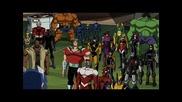 Супер дива снимка от анимацията Отмъстителите: Най-могъщите герои на Земята (2010-2011-2012)