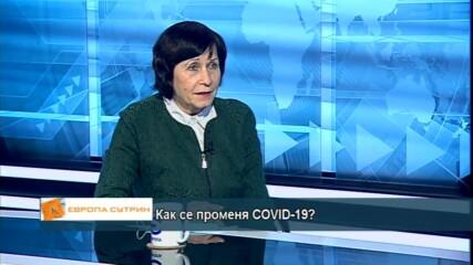 проф. Нели Корсун: Новата мутация на коронавируса е с 70% по-заразна