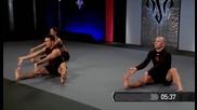 Тренировка с Жорж сен Пиер, разтягане и стречинг за гъвкавост, mma, ufc, Georges Saint Pierre