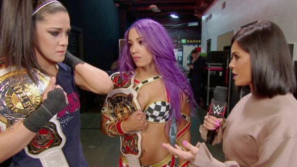 Bayley & Sasha Banks will take on all opposition at WrestleMania: Raw, March 25, 2019