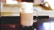 Как да си направите млечен шейк с нутела и кафе?