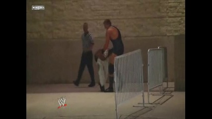 Smack Down 30.7.2010 - Rey Mystero vs Jack Swagger No Dq match