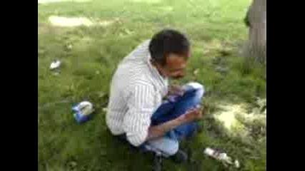 Пиян циганен играе киучек :смях