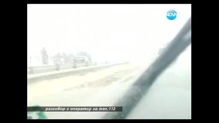 видео! Със 100 км/ ч в насрещното, на полицията не й дреме!