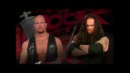 Погребан Жив 1998 Steve Austin Vs The Undertaker