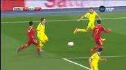 Украйна 0 - 1 Испания ( Квалификация за Европейско първенство 2016 ) ( 12/10/2015 )