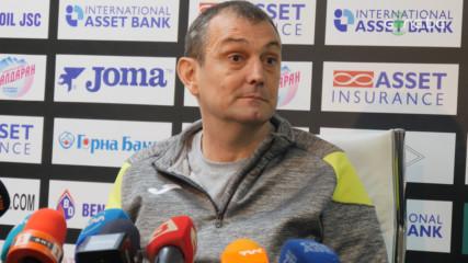 Загорчич: На всеки пост имаме нужда от добри футболисти